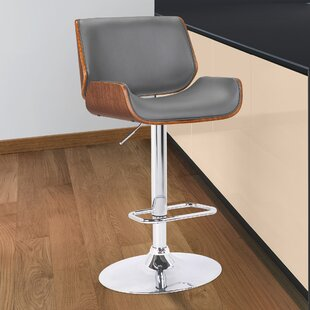 Jefferson Place Adjustable Height Swivel Bar Stool Orren Ellis