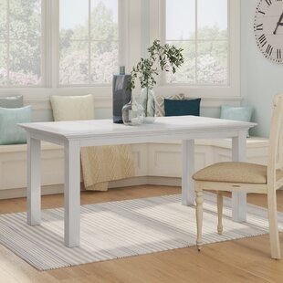 Amityville Extendable Solid Wood Dining Table