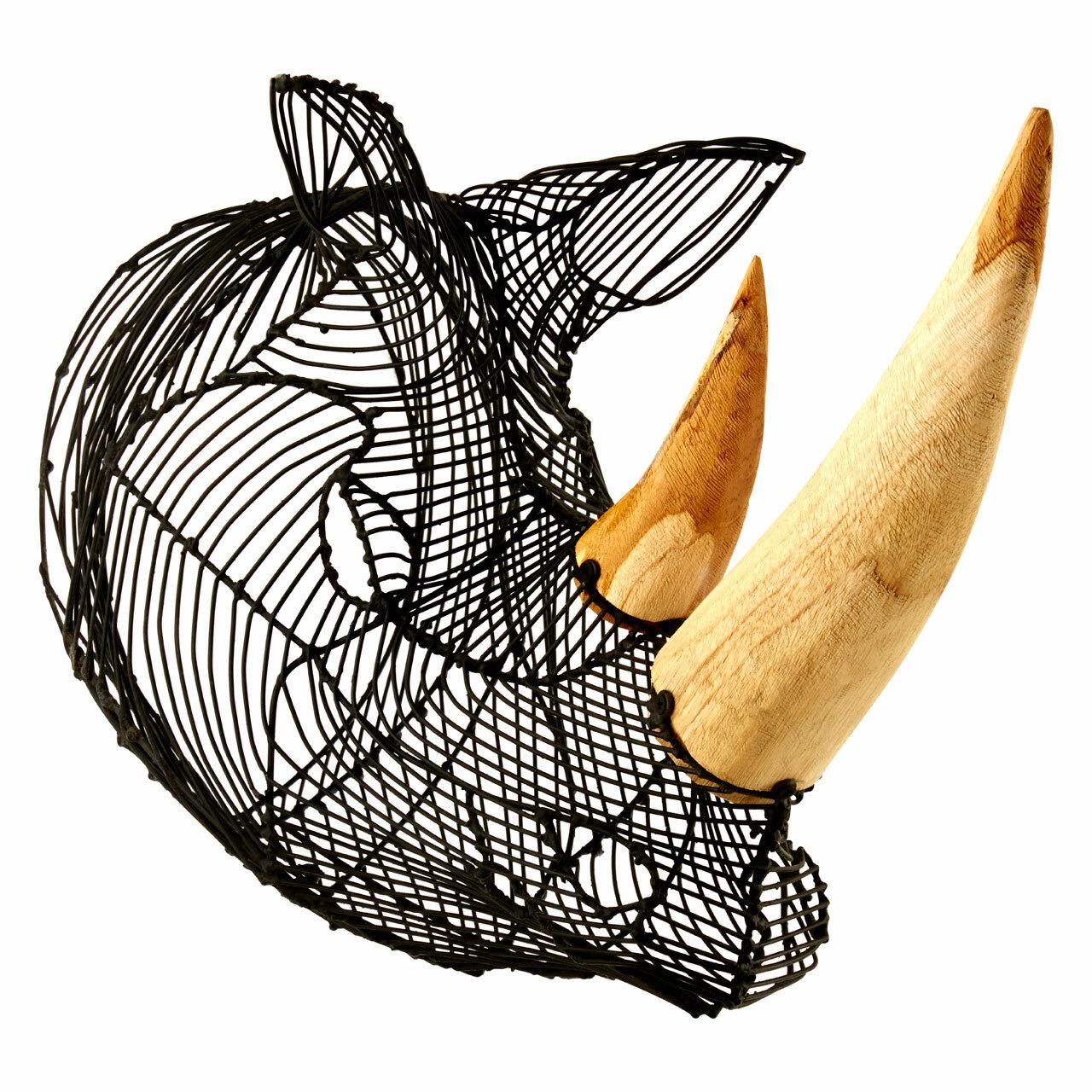 Bloomsbury Market Pruett Rhino Head