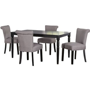 Hubler 5 Piece Dining Set Mercer41