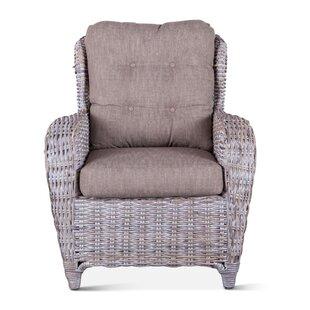 Davonte Wicker Armchair by Bayou Breeze