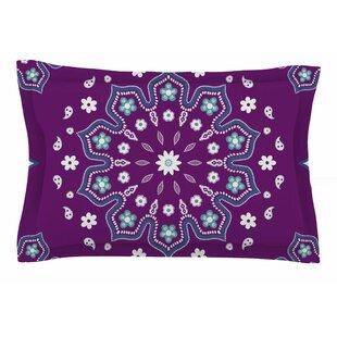 Cristina Bianco Design 'Purple Mandala' Illustration Sham