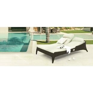 Bliss Reclining Double Chaise Lounge By Domus Ventures