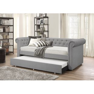 Suzie Twin Daybed with Trundle by House of Hampton