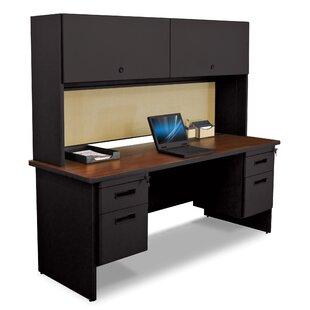 Crivello Executive Desk with Hutch