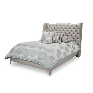 Hollywood Loft Upholstered Panel Bed
