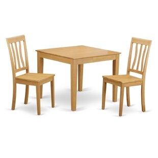Oxford 3 Piece Dining Set Wooden Importers