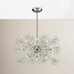Mercer41 Crawford 15-Light Sputnik Chandelier