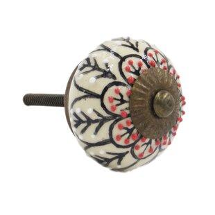 Flower Round Knob