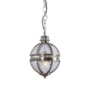 Ginn 1-Light Pendant by Williston Forge