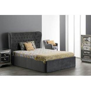 Poar Upholstered Bed Frame By Canora Grey