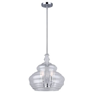 Darby Home Co Luci 5-Light Bell Pendant