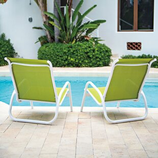 Gardenella Poolside Beach Chair (Set of 4) & Poolside Chairs | Wayfair