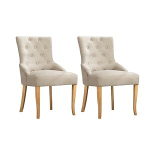 Needham Upholstered Dining Chair (Set Of 2) By Ophelia & Co.