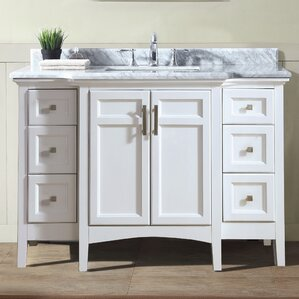 trumbull 48 single bathroom vanity - White Bathroom Cabinets And Vanities