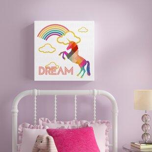 8851a44ebbf Kids Unicorn Wall Art