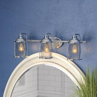 Affordable Price Bouton 3-Light LED Vanity Light By Longshore Tides