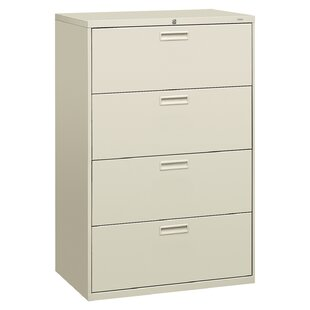 500 Series 4-Drawer Vertical Filing Cabinet by HON