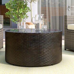 Michal Glass Coffee Table