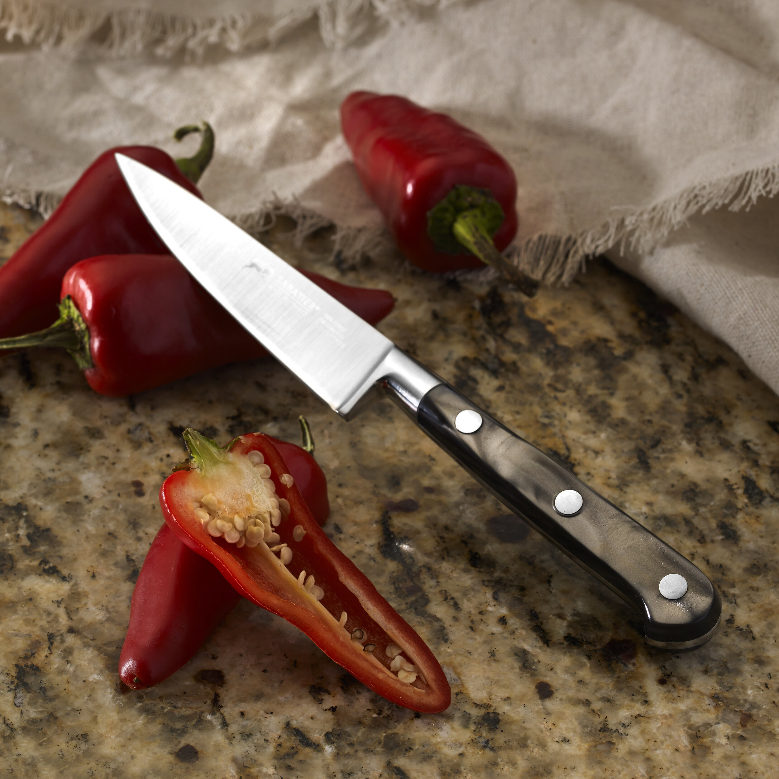 Sabatier 4 Stainless Steel Paring Knife Part Number 5137487