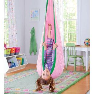 HearthSong HugglePod Indoor/Outdoor Canvas Chair Hammock