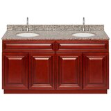Lodd 60 Double Bathroom Vanity Set by Charlton Home®