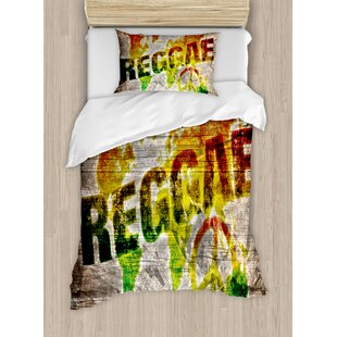 World map bedding wayfair rasta world map on plaques with reggae lettering and peace symbol duvet set gumiabroncs Images