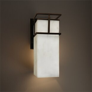 Price Check Genaro 1-Light Outdoor Sconce By Brayden Studio