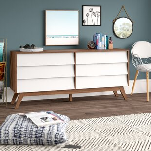Ellenberger 6 Drawer Double Dresser