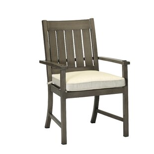 Croquet Patio Dining Chair with Cushion