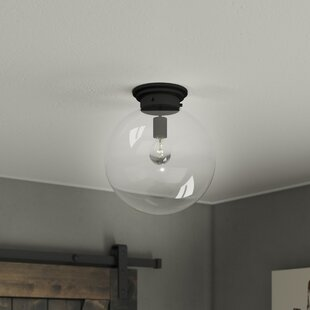 Rosemont 1-Light Semi Flush Mo..