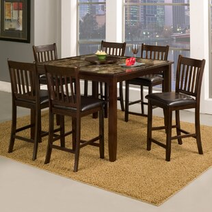 Ventura 7 Piece Pub Table Set Red Barrel Studio