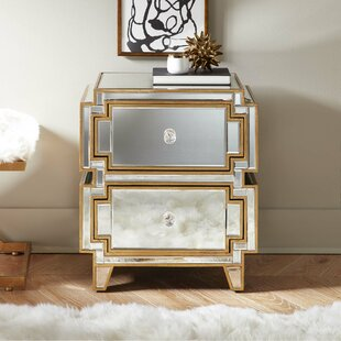 Shalon 2 Drawer Nightstand