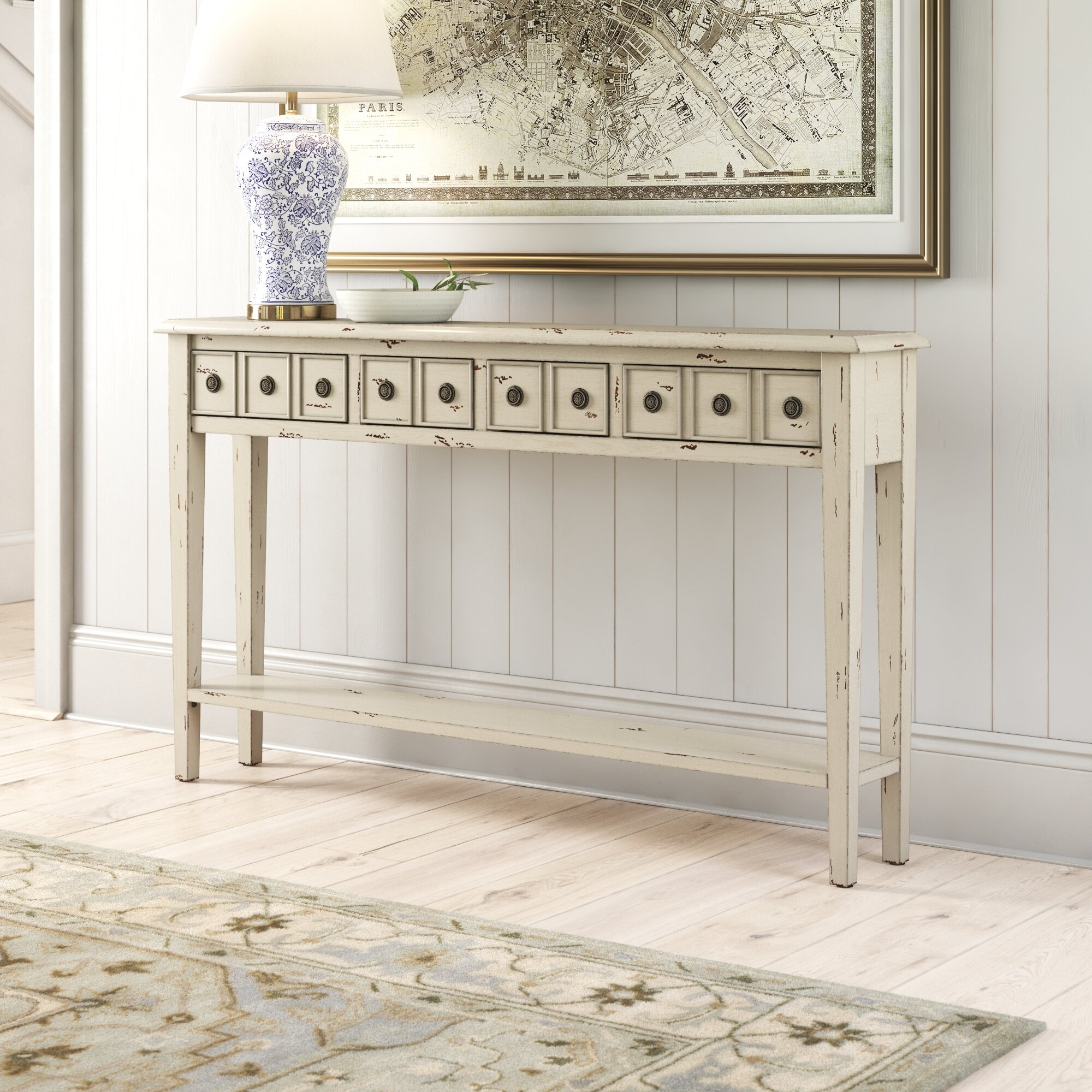 Picture of: Heise 60 Console Table Reviews