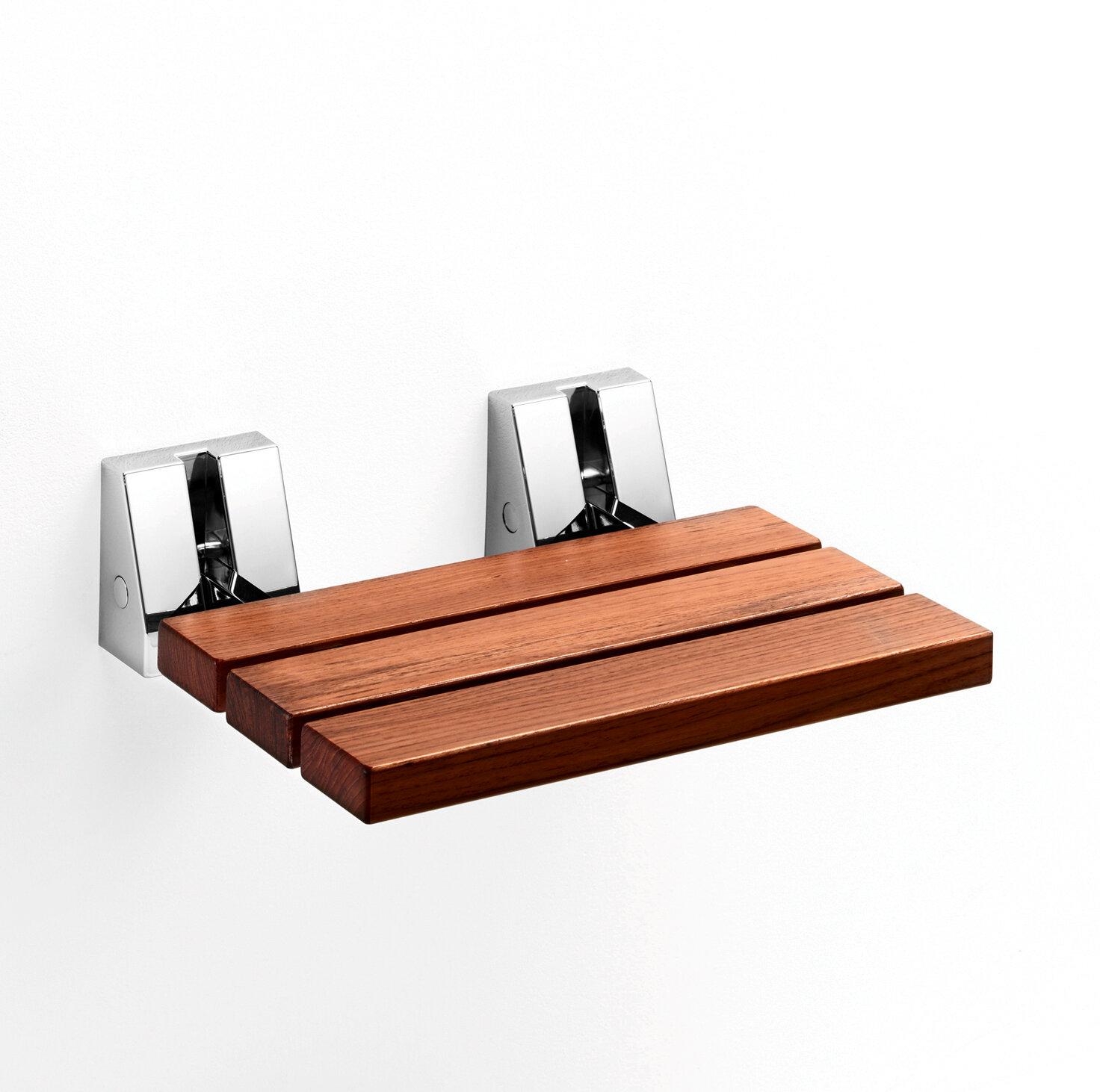 WS Bath Collections Scagni Folding Shower Seat   Wayfair