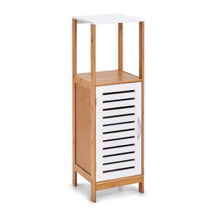 Review 30cm W X 96cm H Free Standing Bathroom Cabinet