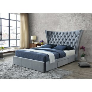 Savion Upholstered Bed Frame By Willa Arlo Interiors