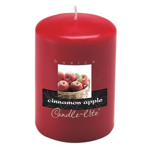 Candle-Lite Cinnamon Pillar Candle (Set of 2)