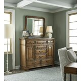 8 Drawer Combo Dresser with Mirror by Universal Furniture