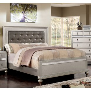 Squire Upholstered Panel Bed b..