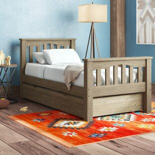 Stella Twin Platform Bed with Trundle