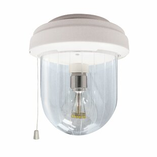 Weatherby LED Outdoor Flush Mount by Winston Porter
