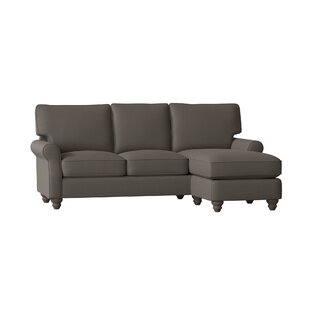 Huxley Sectional With Ottoman by Birch Lane™ Heritage Top Reviews