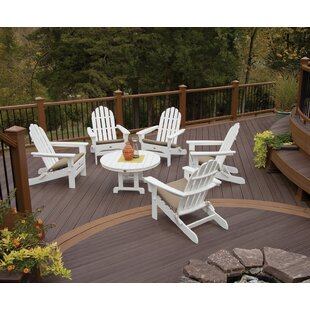 Trex Outdoor Adirondack Sunbrella Seating Group with Cushions