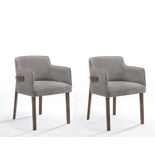 Brayden Studio Creeve Upholstered Dining Chair (Set of 2)