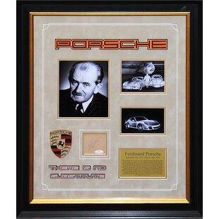 Autographed Collage 'Ferdinand Porsche' Framed Memorabilia ByLuxeWest
