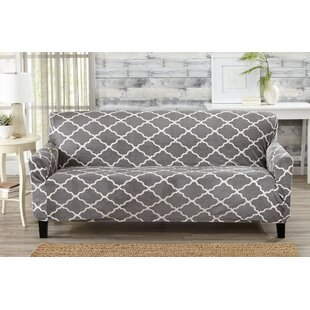 Shop Box Cushion Sofa Slipcover by Alcott Hill