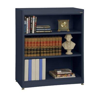 Sandusky Cabinets Elite Radius Edge 42 H X 36 W Metal Standard Bookcase Finish Navy Blue A Tremendous Home
