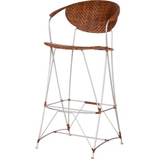 Top Reviews Zen Outdoor 30 Bar Stool by Bungalow Rose Reviews (2019) & Buyer's Guide