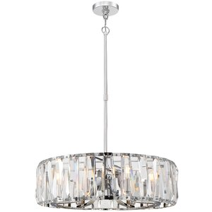 Coronette 8-Light Crystal Chandelier